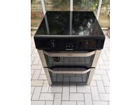 Belling Stainless Steel Induction Cooker With Double Oven