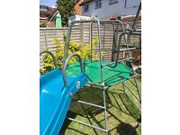 TP Metal climbing frame, slide and monkey bars