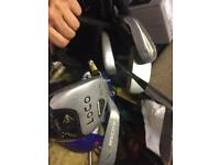 Dunlop junior golf bag and clubs