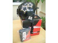 Carrera Black Star Ski / Snowboard Helmet S/M 55 - 58cm