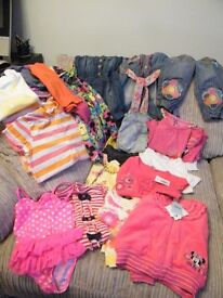 Bundle Girls Clothes Age 2 to 3, Summer / Holidays, Some new, Next, Disney, George