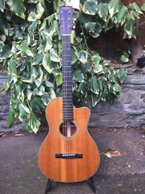 Recording king acoustic, cutaway all solid woods