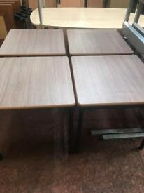Square Brown Coffee Table