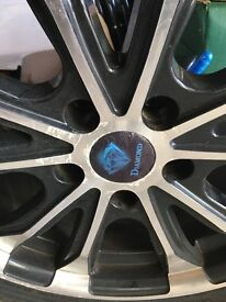 Immaculate Car wheels for sale