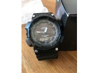 BRAND NEW CASIO ILLUMINATOR WATCH. BLACK. BOXED. £20 NO OFFERS. CAN DELIVER