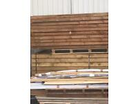 Timber fence posts all size