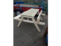 heavy duty picnic bench ,made to last .