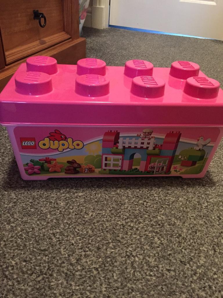 Girls Lego duplo box 58 pieces