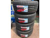 225/40R18 255/35R18 FULL SET X4 NEW TYRES FITTED *CHEAPEST PRICES* 225 40 18 255 35 18