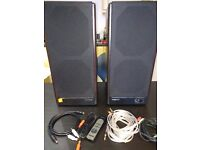 Microlab 8c 2.0 stereo speaker for sale