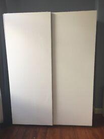 Pax Sliding Door Wardrobe White