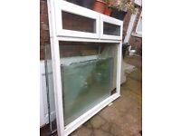 upvc window 154cm x 158cm