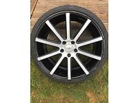 """Judd 19"""" Alloy Wheels with Brand New Low Profile Tyres"""