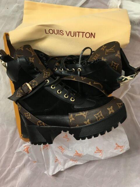 c8f1c09d248 Size 7 Louis Vuitton Platform Desert Boots BNIB | in Plymouth, Devon |  Gumtree