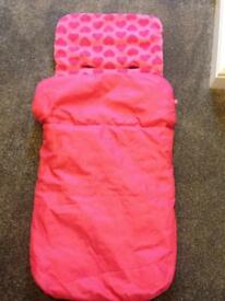 Pink Footmuff (Fab Condition)