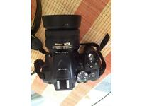[last price] Nikon D5300 body and Nikon 35mm f1.8 DX lens