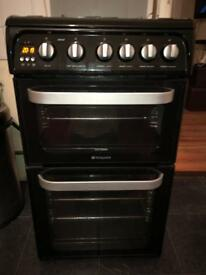 Urgent! Hotpoint 50cm Gas double cooker