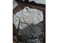Chefs jacket and 3 aprons