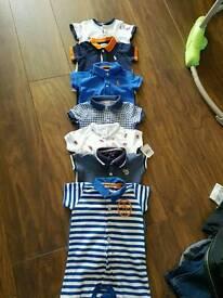 Designer baby all in ones