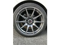 £550 or nearest offer!!!!Alloy wheels 18x5x114.3/120x8.75jxet30, drift,race,track, BARGAIN