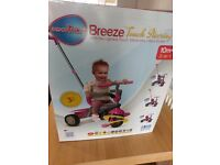 SmarTrike breeze touch steering 3-in-1 trike 10m+