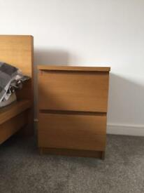 IKEA Malm chest of two drawers