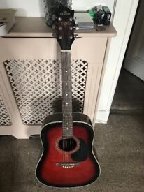 Acoustic Deacon Guitar - selling due to move