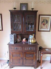 Jaycee solid dark oak dresser