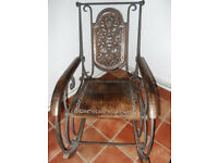 Beautiful Carved Rocking Chair