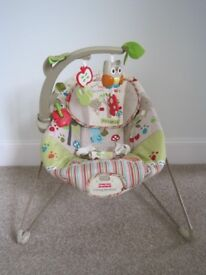 Fisher Price Woodsy Friends Bouncy Chair