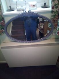Lovely oval mirror