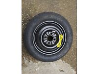Spare wheel 125/90/15 in new condition volvo v40 2003