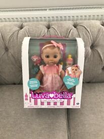 Brand new in box Luvabella Doll