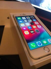 iPhone 6 16gb unlocked Touch ID with box great condition