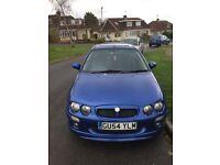 Mg zr 1.8 petrol , royal blue , good runner make a good first car or cheap run around 6 months mot.