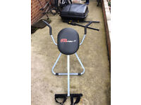 Ab rider exercise machine