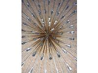 Large Diamante Jewel Petal Wall Art Excellent Condition