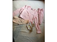 NEW Girl's Ballet Bundle Skirt shoes, tights etc 6-7-8 Primary NW6/Gunnesbury