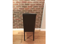 Extraordinary Condition Leather Dining Chairs