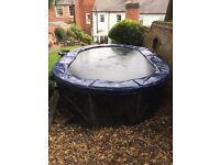 Jumpking Oval JumpPod Trampoline 15ft x 10ft - Pickup only