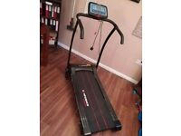Electric tread mill with digital variable speed