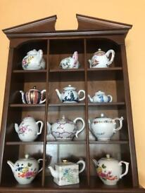 This is collectable teapots