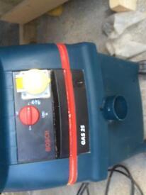 Bosch 110v dust extraction