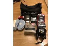 Boxing set with bag