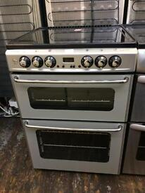Stoves Newhome Double Oven ceramic top