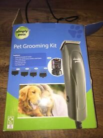 Simply Pets Pet Dog Grooming Kit Clippers