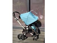 Bugaboo Cameleon 3 Petrol Blue with many extras
