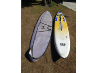 Mistral Equipe SR lightweight board for longboard course racing