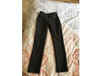 Grey girls school trousers age 7/8