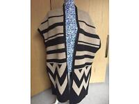 Brand new with tags Sleeveless Cardigan - Size Large